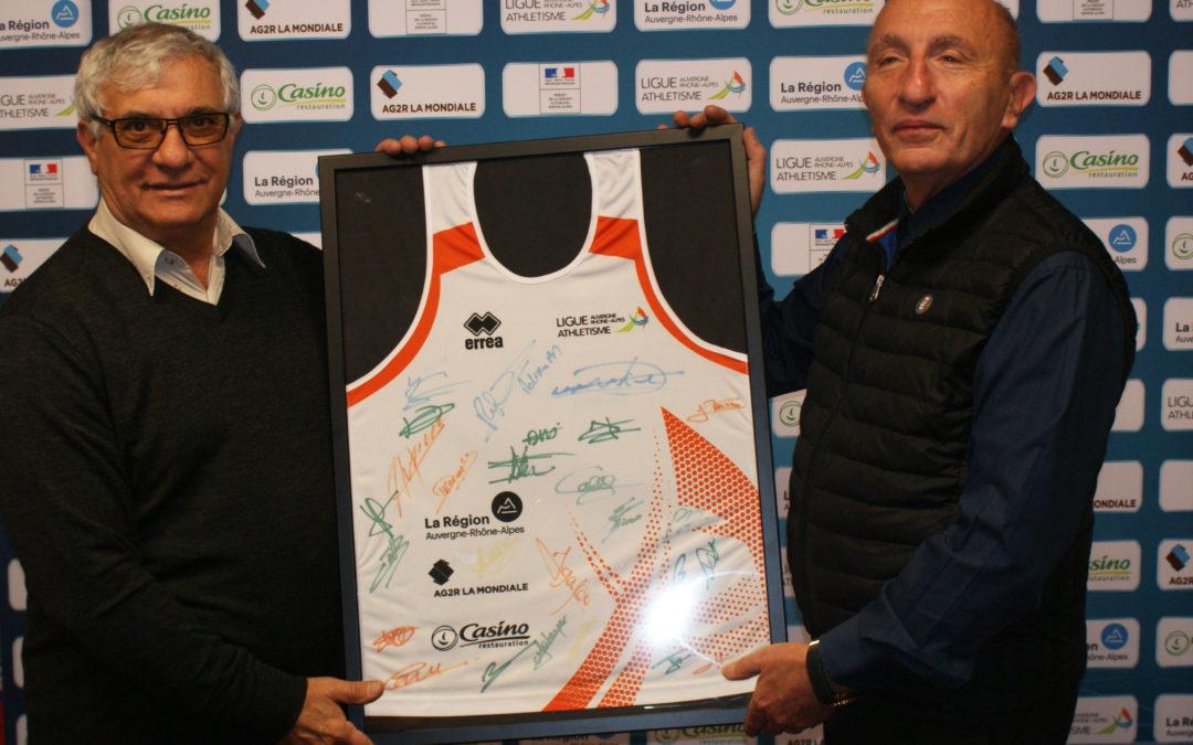 FAURE renouvelle son partenariat sportif avec la Ligue Auvergne Rhône-Alpes d'Athlétisme